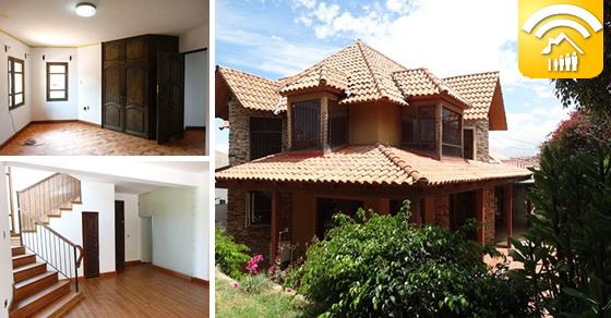 Cochabamba casa en alquiler zona templo mormon for Casa con jardin alquiler