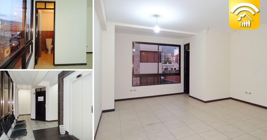 Cochabamba oficina en alquiler proxima a la plaza colon for Alquileres oficinas